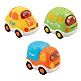 VTech Baby Toot-Toot Drivers Everyday Vehicles - Multi-Coloured, Pack of 3