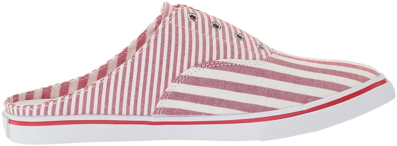 Lauren by Ralph Lauren Women's Jaida Sneaker B0767SZMKH 10 B(M) US Red/White