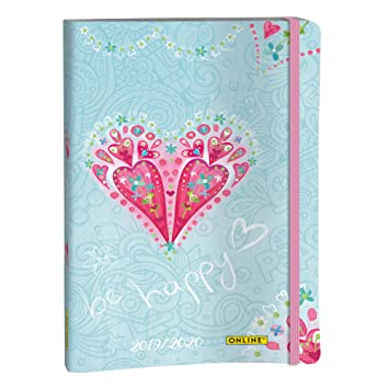Online 02985 - Agenda 2019/2020, Creative Diary, Be Happy, 1 ...