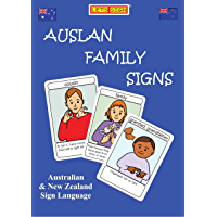 FAMILY SIGNS FLASHCARDS: Auslan & New Zealand Sign Language (LET'S SIGN)