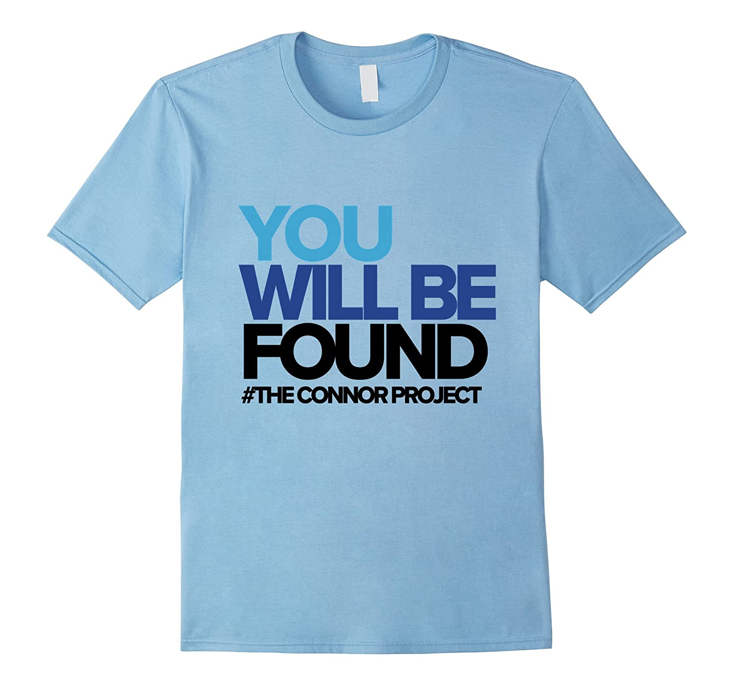 You Will Be Found - Connor Project T-shirt-BN