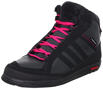 check out 5ab57 3a31c Adidas Schuhe Choleah Sneaker PL W Damen solid grey-black-bright pink  (G63362