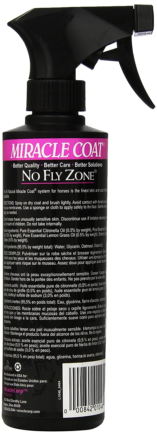 Amazon.com : Miracle Coat, Premium Horse Shampoo - 32oz : Horse Coat Care : Pet Supplies
