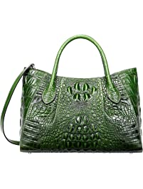 PIJUSHI Women Handbags Crocodile Top Handle Bag Satchel Bags for Women