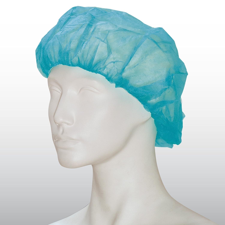 1000 unidades Barett Campana - Tiga-Med cabeza desechable para personal sanitario (hauben Op hauben Marca bicap en dispensador de cartón, color blanco: ...
