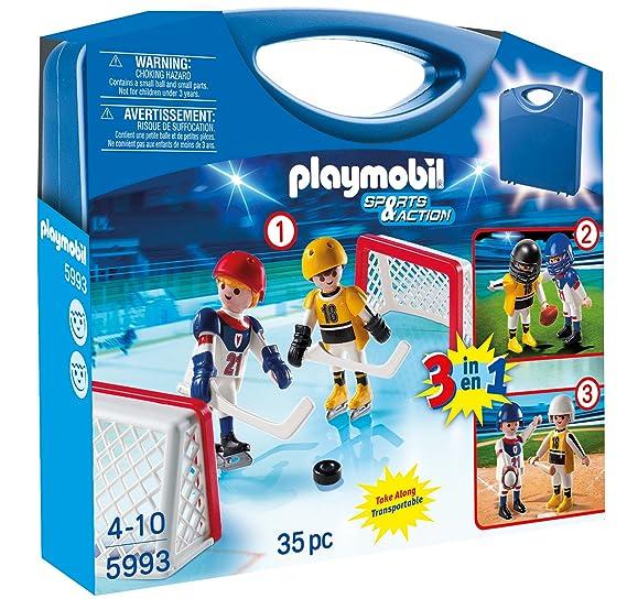 Playmobil Maletín - Multideporte (5993)  Amazon.es  Juguetes y juegos c34e298a70e