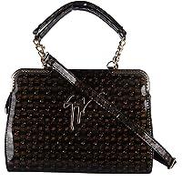 Varoonss Beautiful Black Women Ladies Evening Party Wear Handbag, Satchel With Sling