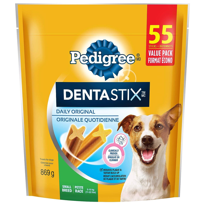Original 55 Sticks Pedigree Dentastix Oral Care Treats for Dogs Small