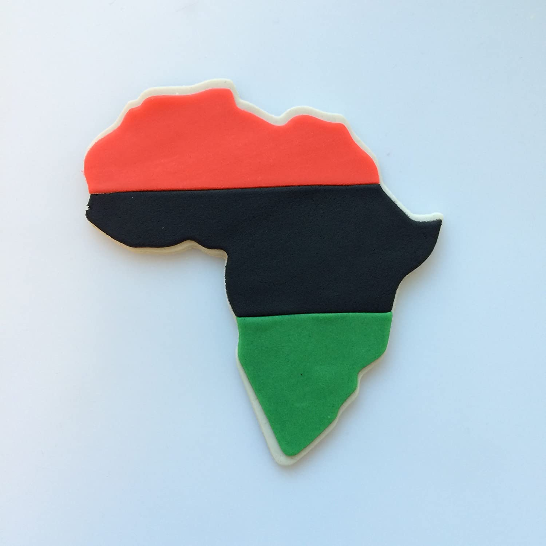 Kwanzaa Africa Cookie Cutter Set