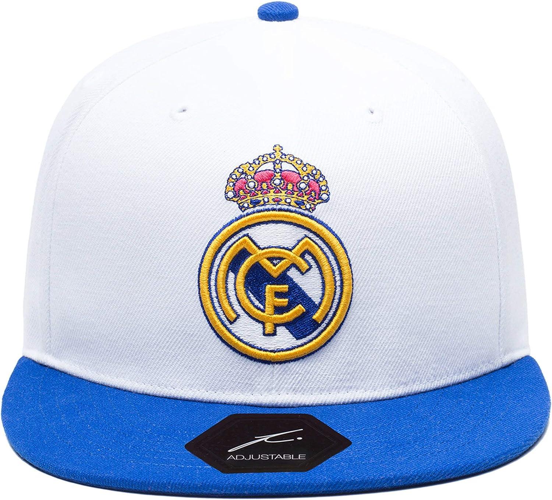 Real Madrid White /& Blue Baseball Cap Adjustable