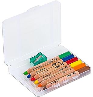 48x 12 Buntstifte Mini 8,5 cm im Kartonetui Farbstifte Malstifte Holzbuntstifte