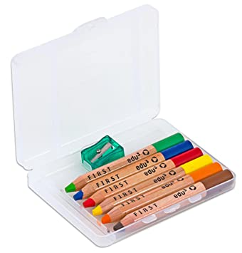 Buntstifte für Kinder Malstifte im 6er Pck 17,5cm