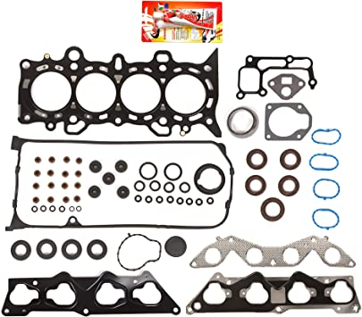 Lower Gasket Set Fit 01-05 Honda Civic EX HX DX LX 1.7 D17A1 D17A2 D17A6