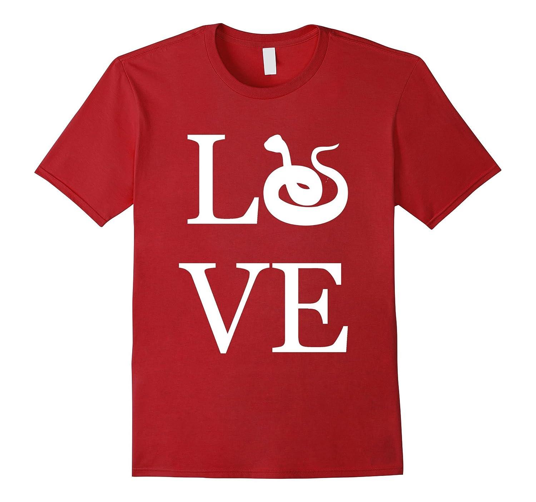 59f65456a767 Love Snake Shirt, I Love Snakes T-Shirt Graphic Tee-CL – Colamaga