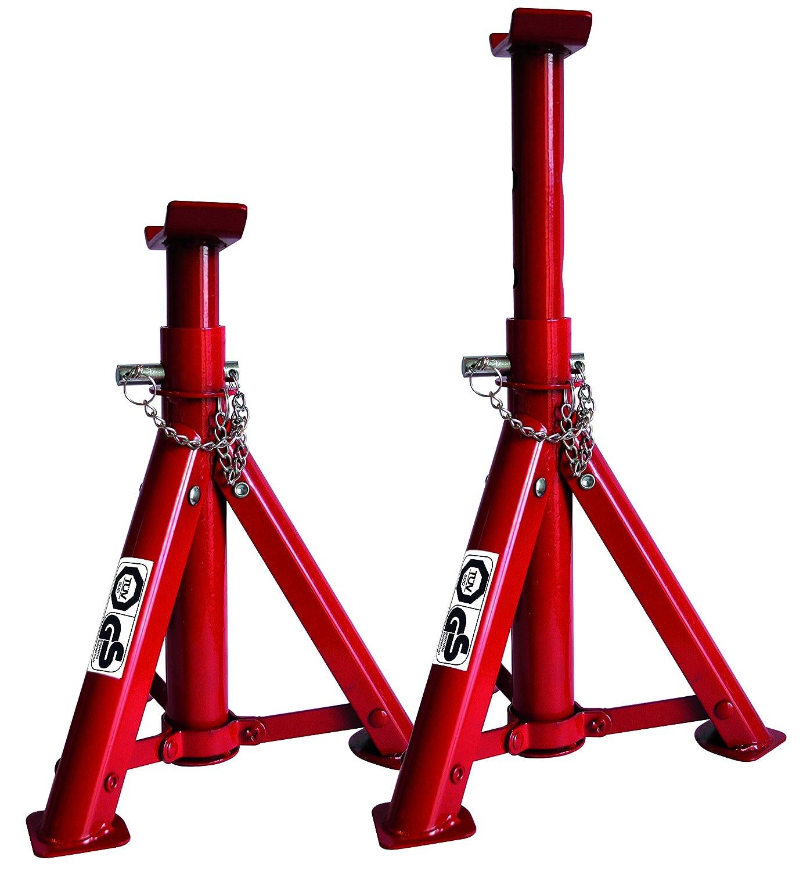 Vip - Set de Caballetes de apoyo con capacidad de elevación 2 TN.: Amazon.es: Coche y moto