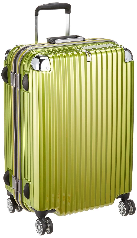 [トラベリスト] スーツケース ストリークII フレーム M 75L 4.6Kg 預入無料 大容量 75.0L 67cm 4.6kg 76-20230  ライムヘアライン B075CPYDMM