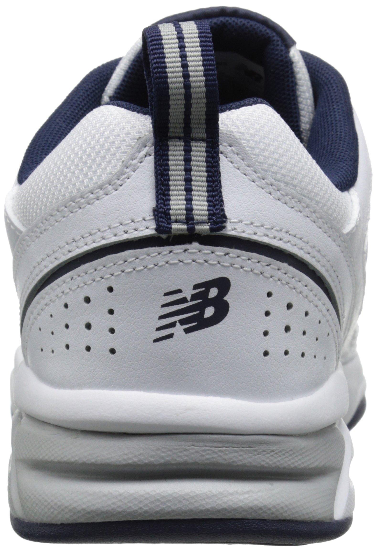 New Balance Men's MX623v3 Casual Comfort Training Shoe,  White/Navy, 8 M US by New Balance (Image #2)