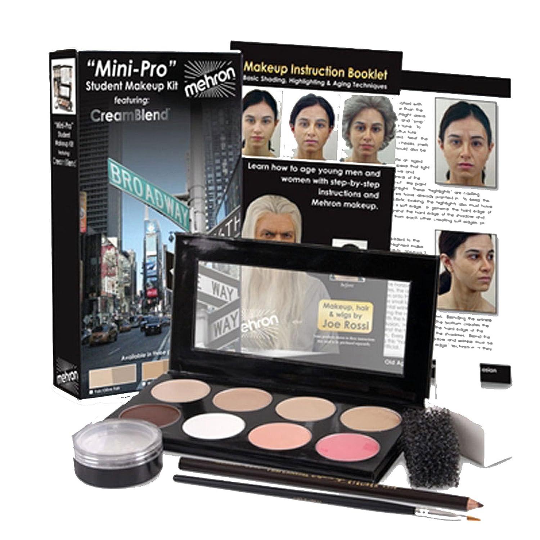 Mini-Pro Student Makeup Kit Featuring CreamBlend Makeup Base kmp