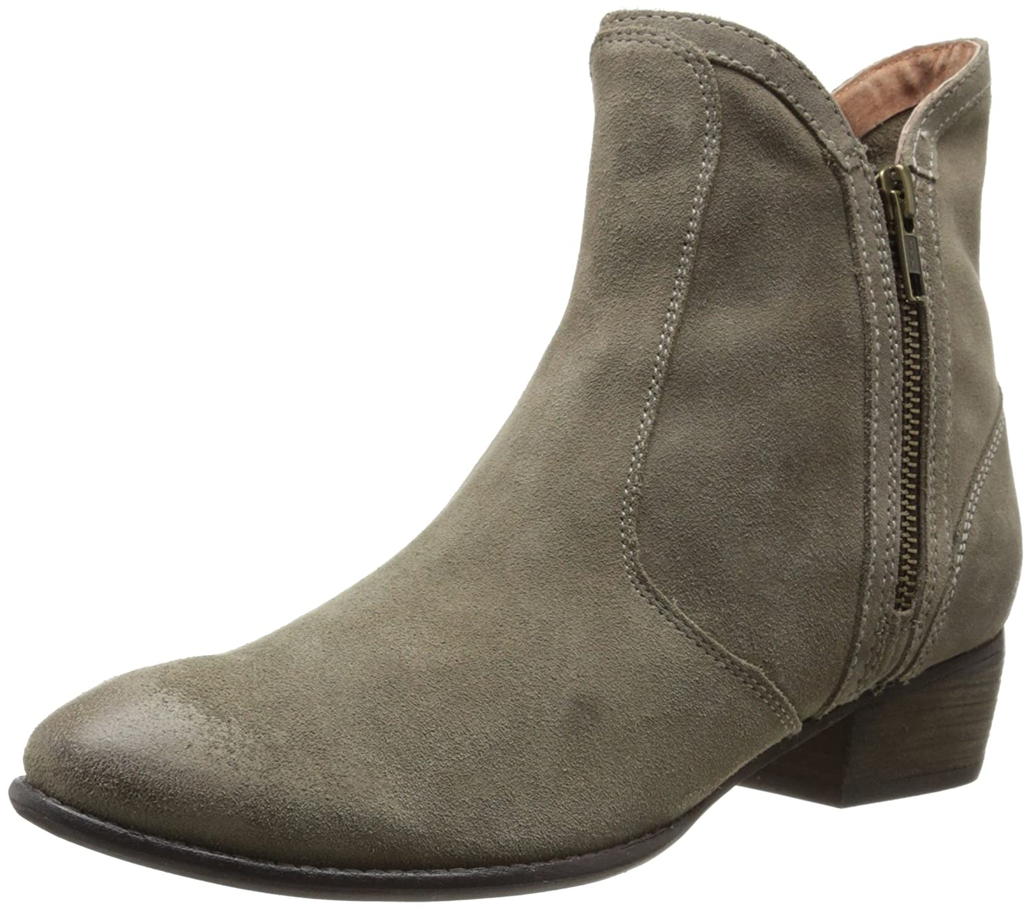 Seychelles Women's Lucky Penny Bootie B00JGQH74G 10 B(M) US|Taupe Suede