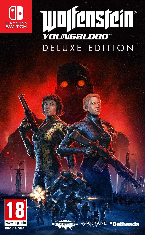 Resultado de imagem para Wolfenstein Youngblood Deluxe Edition switch