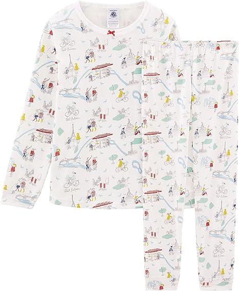 Pantaloni Pigiama Bambina Petit Bateau