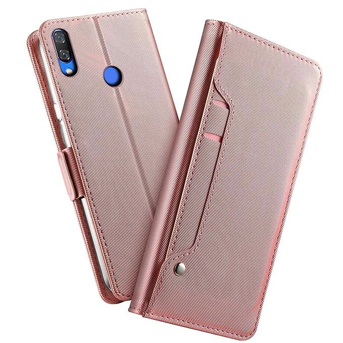 Amazon.com: Huawei Y9 2019 Case, BasicStock Premium PU ...