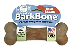 Pet Qwerks BarkBone Dog Chew Toys for Aggressive Chewers
