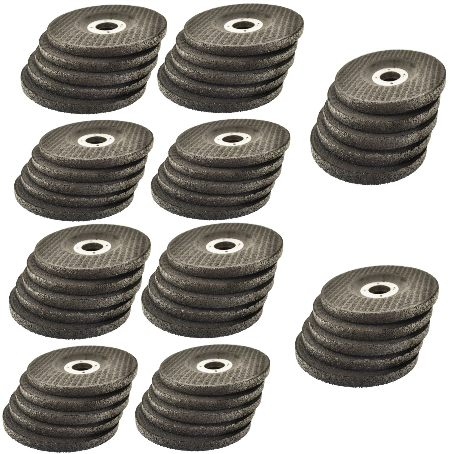 4 1/2'' Depressed/Dished Centre Metal Grinding Disc Stainless Steel AT850_50Pk