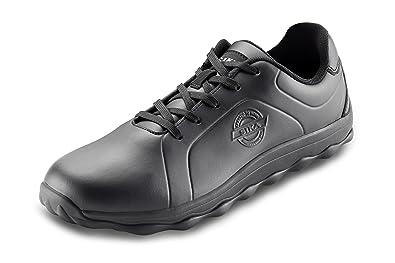 Sika Sneaker Step Bubble O2 Berufsschuhe Kochschuhe Gastro Service Schwarz (48)