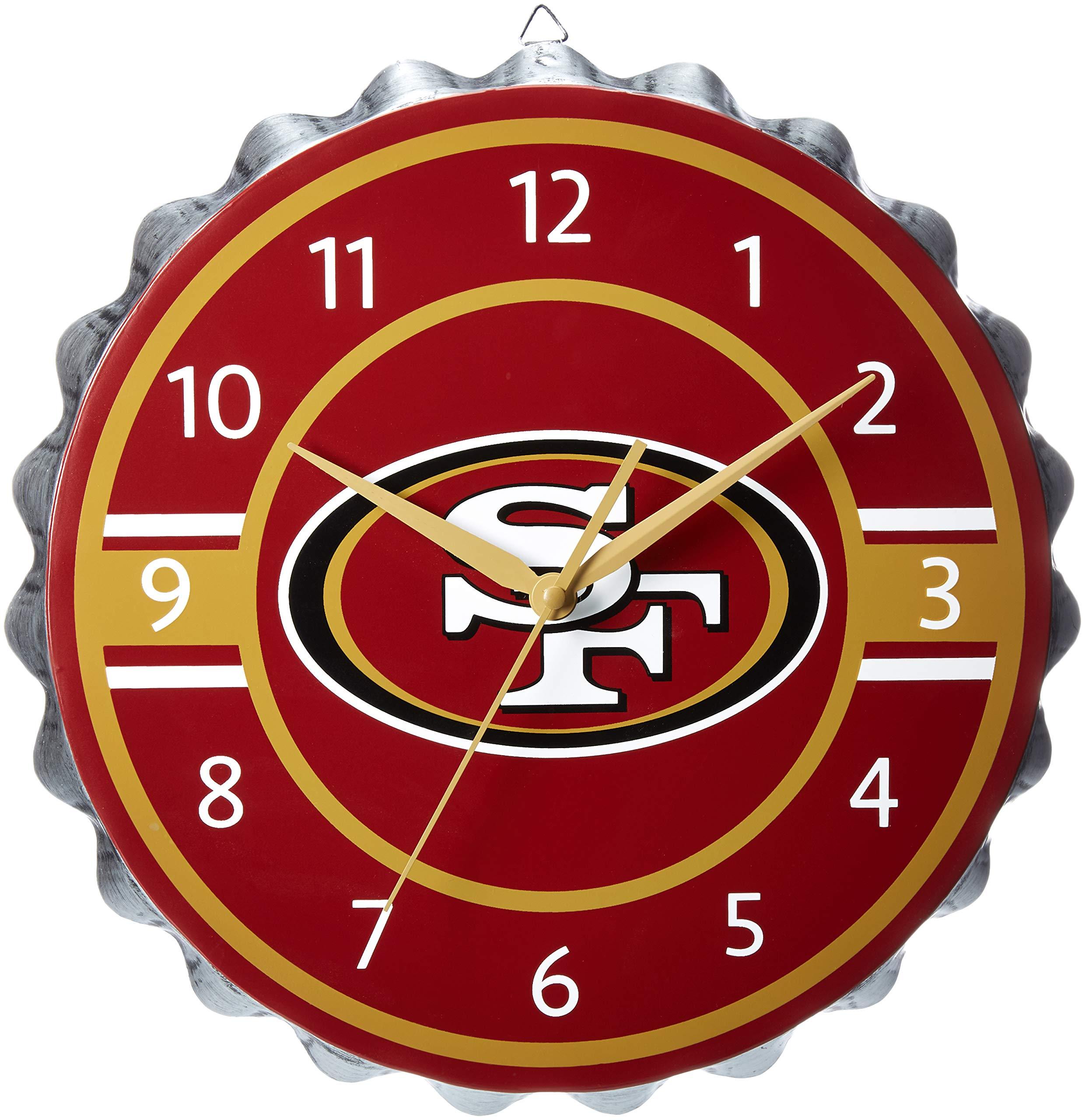 San Francisco 49ers Bottlecap Clock by FOCO