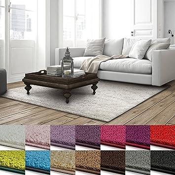 Shaggy Teppich Barcelona | Weicher Hochflor Teppich Für Wohnzimmer,  Schlafzimmer Und Kinderzimmer | Mit GUT