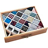 Clothes Drawer Organizer - 32 Compartment Diamond Storage Organizer for Home and Office - Over a Million units sold!!!