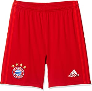 adidas 2019-2020 Bayern Munich Home Shorts (Red) - Kids
