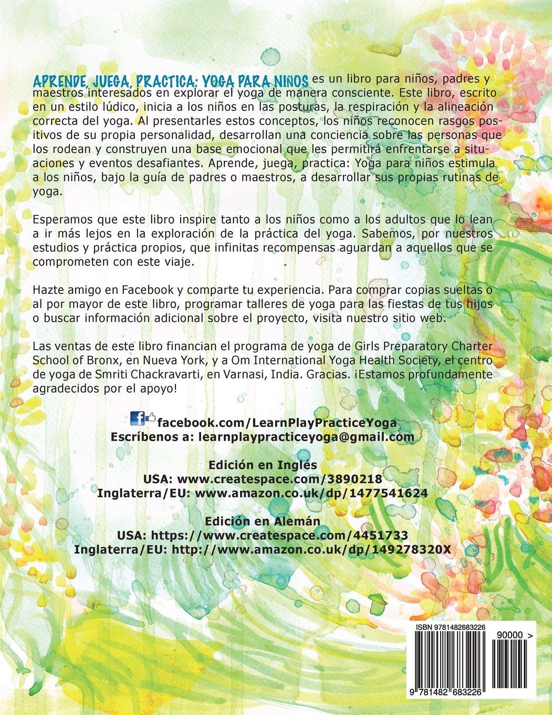 Aprende, juega, practica: Yoga para niños. (Spanish Edition ...