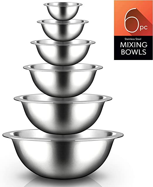 USA SELLER  3 QT MIXING BOWL STAINLESS STEEL FREE SHIPPING US ONLY
