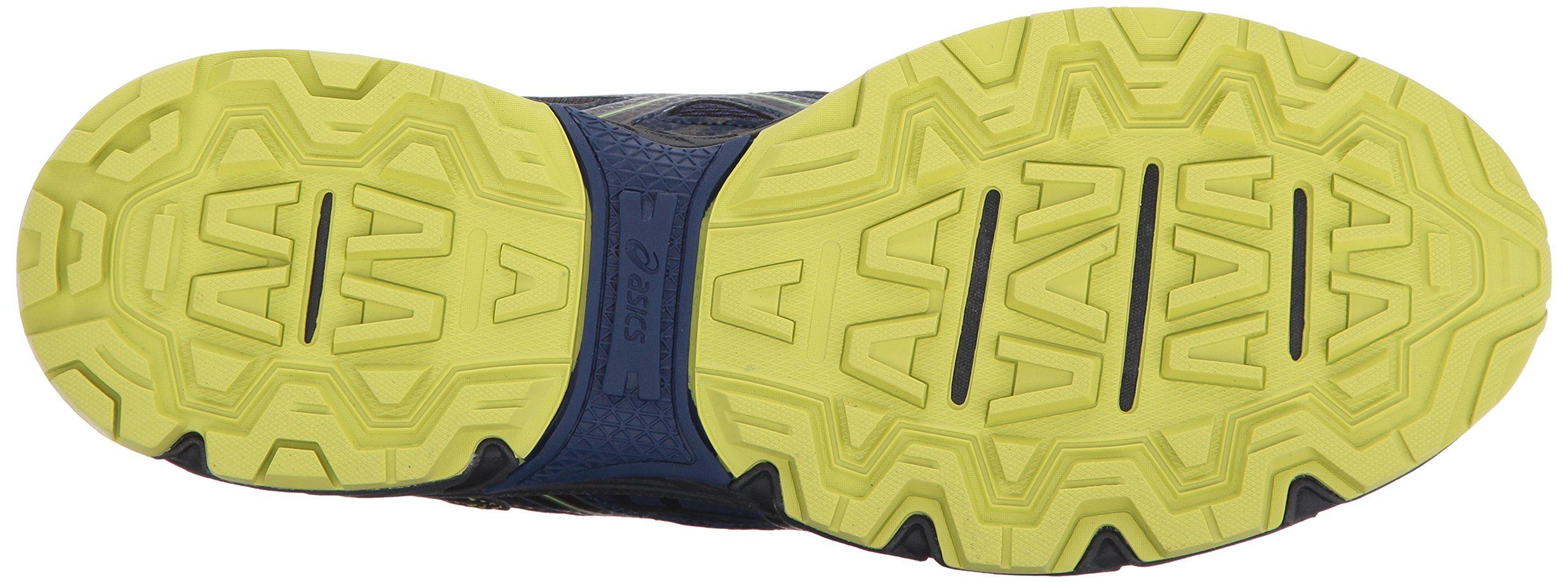 ASICS Mens Gel-Venture 6 Running Shoe, Indigo Blue/Black/Energy Green, 7 Medium US by ASICS (Image #3)