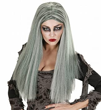 WIDMANN - Peluca para disfraz de adulto zombi (6740)