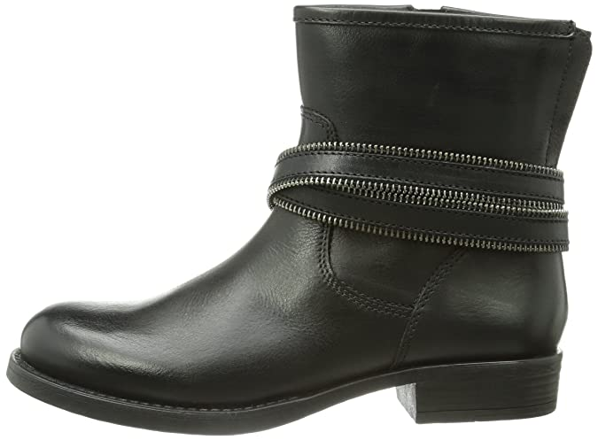 880258c954697 Unisa Guinda Ha, Girls Biker Boot, Black (Black), 2.5 Child UK (41 EU):  Amazon.co.uk: Shoes & Bags