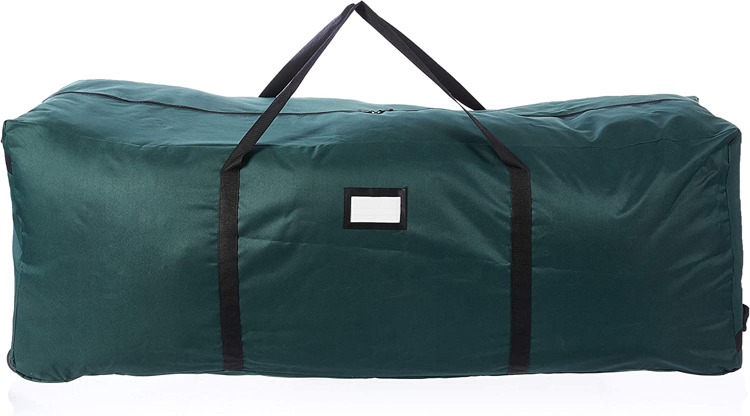 Green Holds a 9 ft Artificial Tree Elf Stor Rolling Duffel Bag Style Christmas Tree Storage Bag