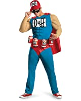 Duffman Classic Muscle Adult Costume - XX-Large