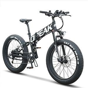 Opeak 750W Foldable Electric Bike