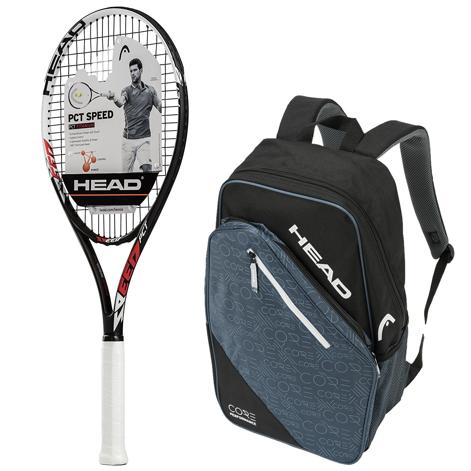 Amazon.com : Head PCT Speed Pre-Strung Tennis Racquet ...