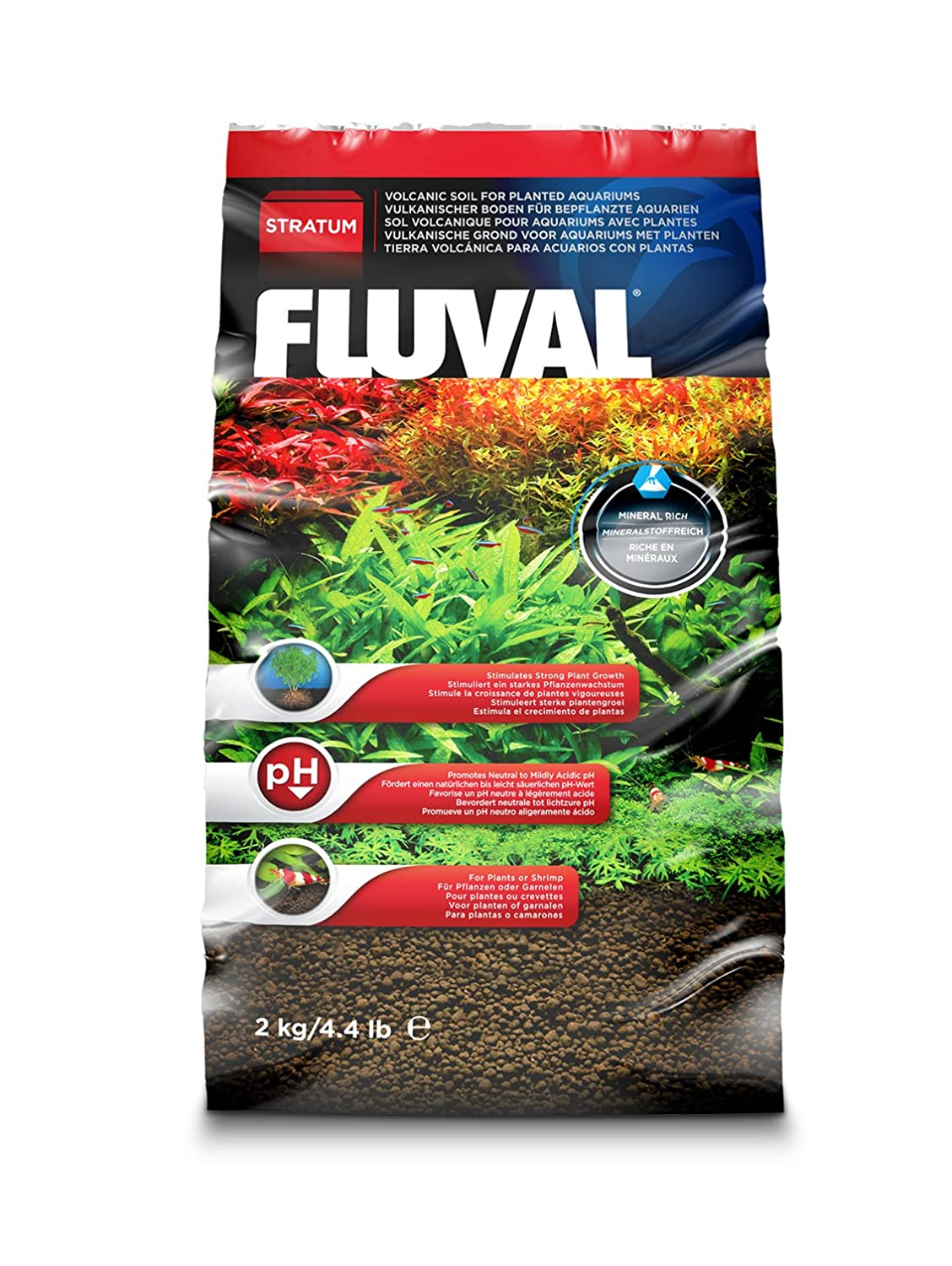 The right choice of soil for the aquarium