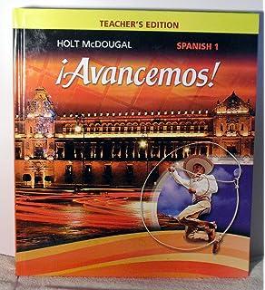 Amazon avancemos 1 uno 9780554025315 holt mcdougal books avancemos teacher edition level 1 2013 spanish edition fandeluxe Choice Image