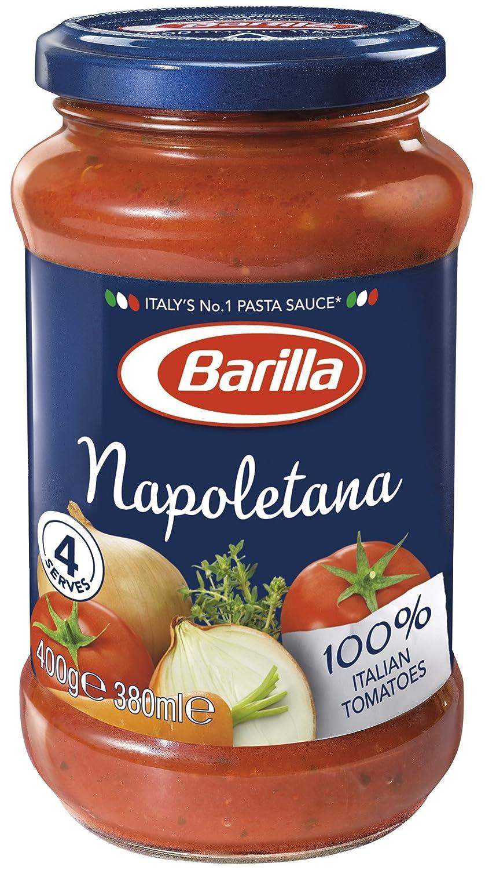 Barilla - Salsa Napolitana (Tomate con hierbas aromáticas), 400 g: Amazon.es: Alimentación y bebidas