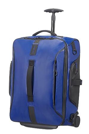 Samsonite Paradiver Light Bolsa de Viaje con Ruedas, S (55Cm-48,5L), Azul: Amazon.es: Equipaje