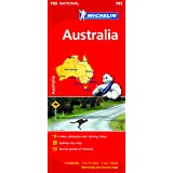 Australia NATIONAL Map (Michelin National Map)