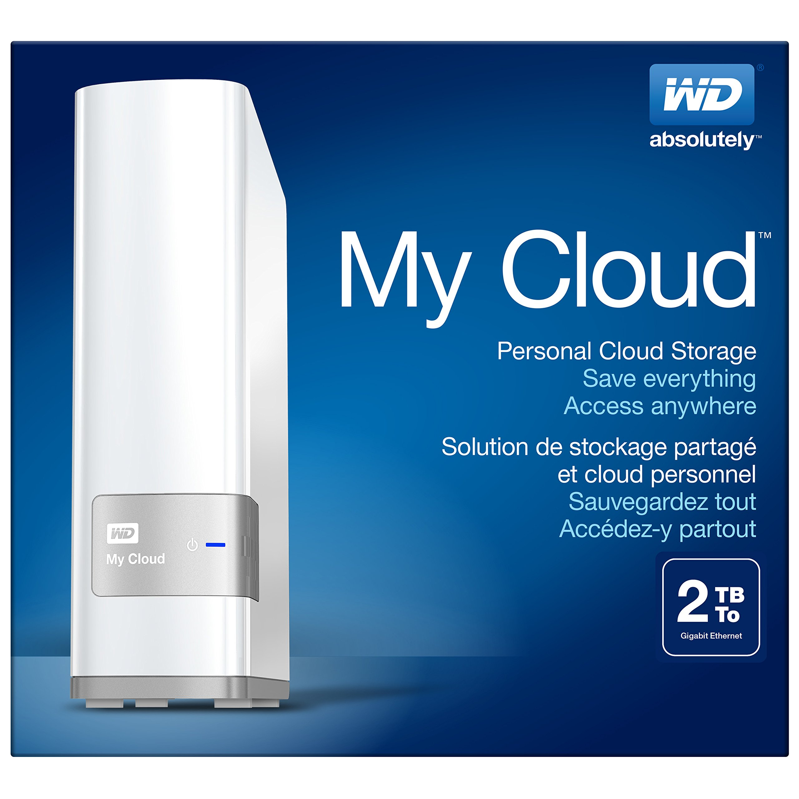 WD 2TB My Cloud Personal Network Attached Storage - NAS - WDBCTL0020HWT-NESN by Western Digital (Image #6)