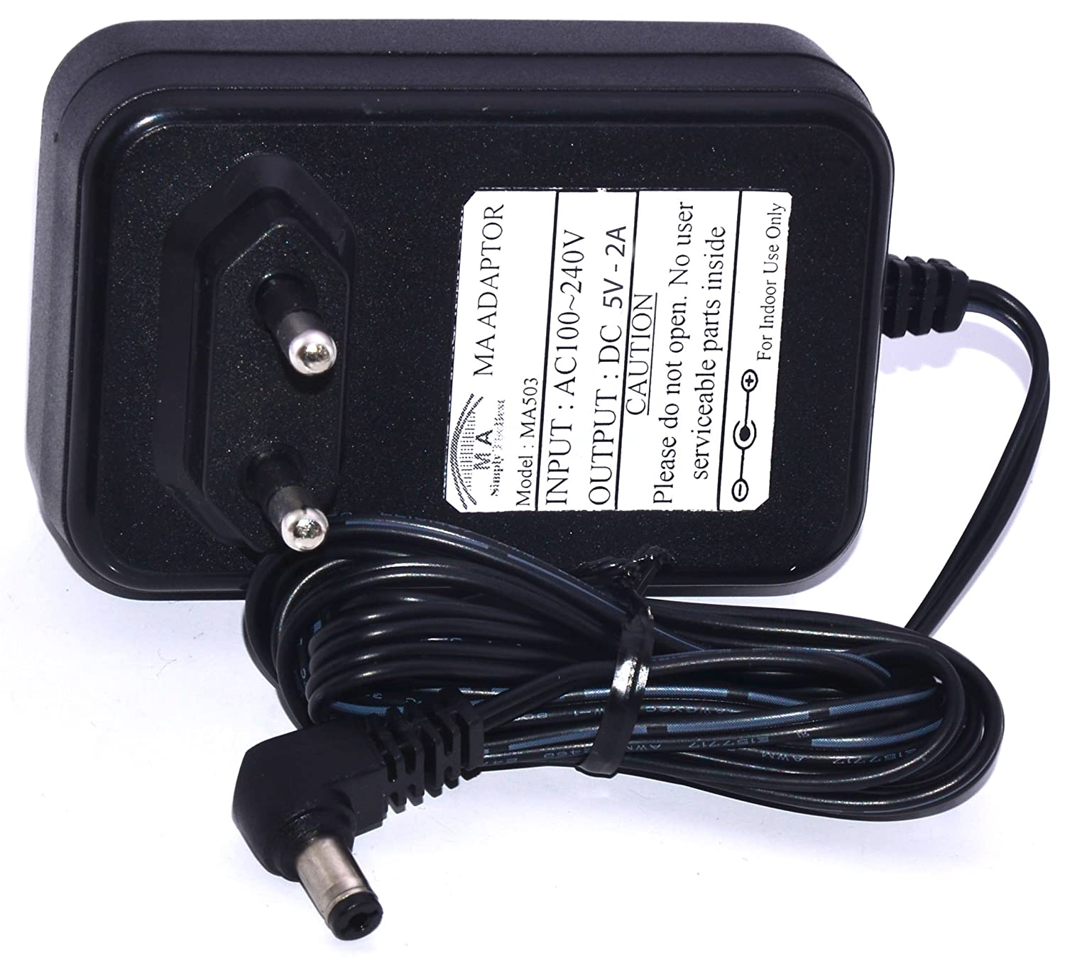 Buy Ma Dc 5v 2a L Type Power Adaptor For Arduino Board Router Modem And Other Online At Low Prices In India