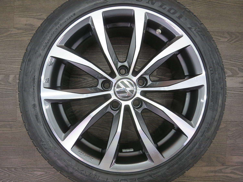 Juego de llantas para Volkswagen de 17 pulgadas, neumáticos de verano: Amazon.es: Coche y moto